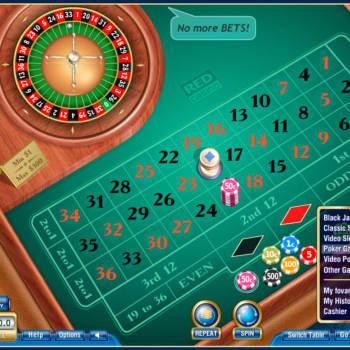 Red casino by NVAstudio