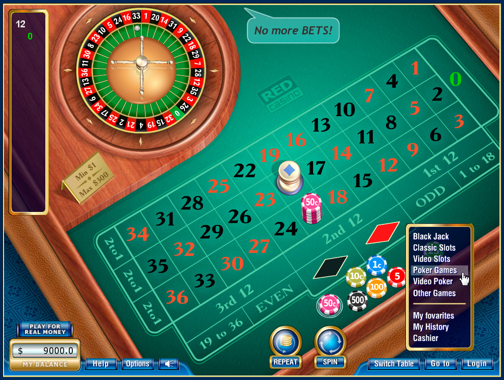 Design for online casino